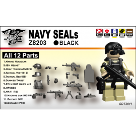 NAVY SEALS(II) 12+Parts -Iron Black