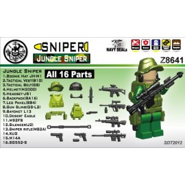 Jungle Sniper without minifigure