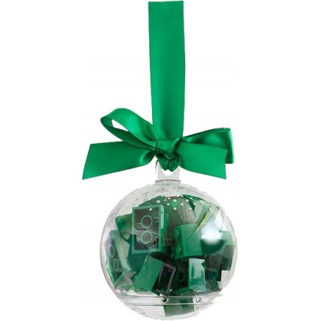 853346 Holiday Ornament with Green Bricks