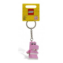 850416 LEGO® Pink Hippo Key Chain