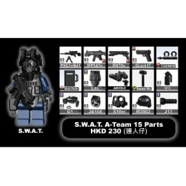 S.W.A.T. A-Team + minifigure