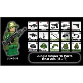 Jungle Sniper + minifigure