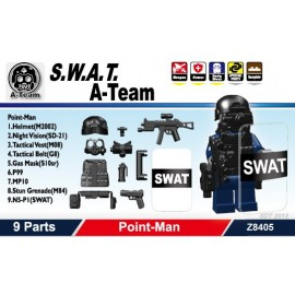 S.W.A.T. A-Team Point-Man 不包括人仔