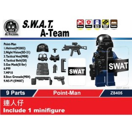 S.W.A.T. A-Team Point-Man 連人仔