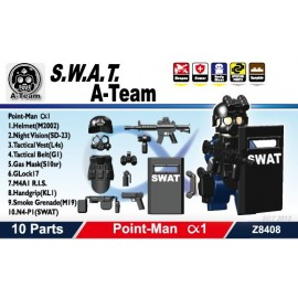 S.W.A.T. A-Team Point-Man Alfa1 不包括人仔