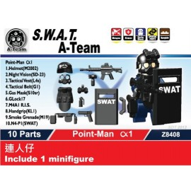 S.W.A.T. A-Team Point-Man Alfa1 連人仔