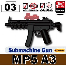 MP5A3-Submachine Gun