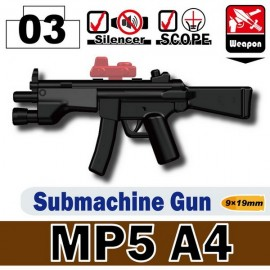 MP5A4 Submachine Gun