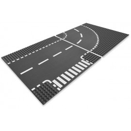 7281 T-Junction & Curved Road Plates