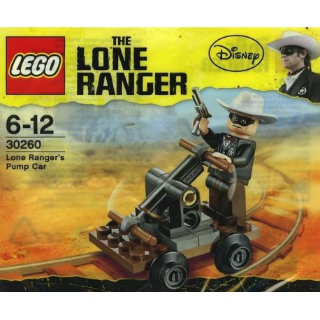 30260 Lone Ranger's Pump Car