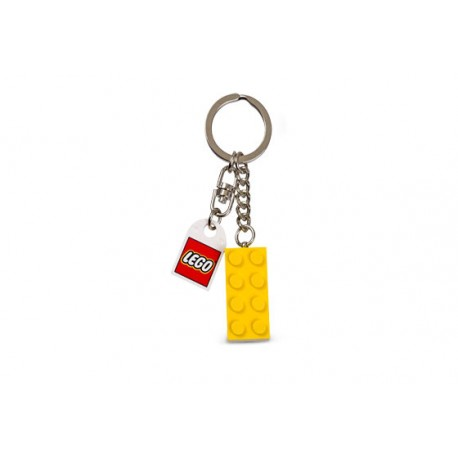 852095 Yellow Brick Key Chain
