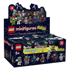 71010 Minifigures Series 14 Box (60 Pcs)