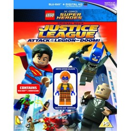 LEGO DC Super Heroes: Justice League - Attack of the Legion of Doom! (2015) DVD/Blu-Ray
