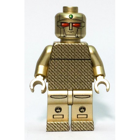 黃金戰士 Gold Lightan Custom Printed LEGO® Minifigure