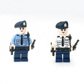 HK Police (Long Sleeve) Custom Printed LEGO® Minifigure