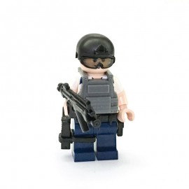CTRU (White) Custom Printed LEGO® Minifigure