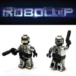 Robocop 鐵甲威龍 Custom Printed LEGO® Minifigure
