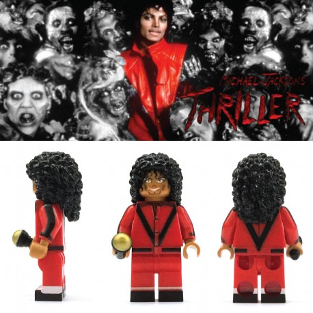 Michael Jackson Thriller 米高積遜 Custom Printed LEGO® Minifigure