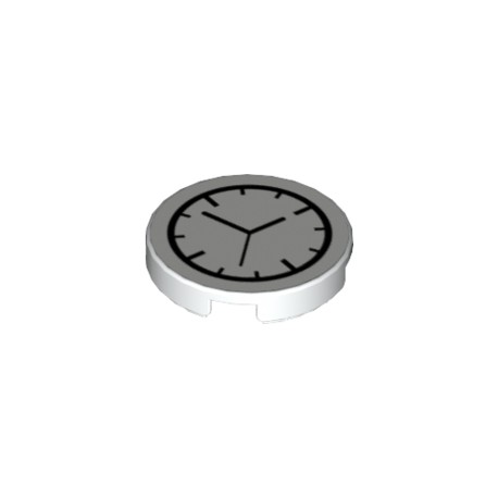 80269 Flat Tile 2X2 Round - Watch