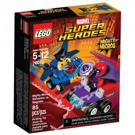 76073 Mighty Micros: Wolverine vs. Magneto