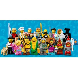 SERIES 17 - 71018 LEGO MINIFIGURES SET