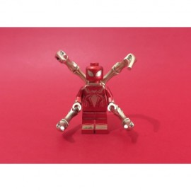 IRON SPIDER-MAN Custom Printed LEGO® Minifigure