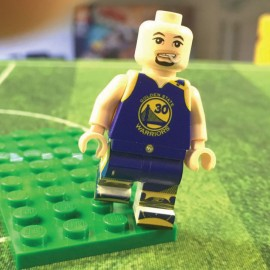 Curry Custom Printed LEGO® Minifigure