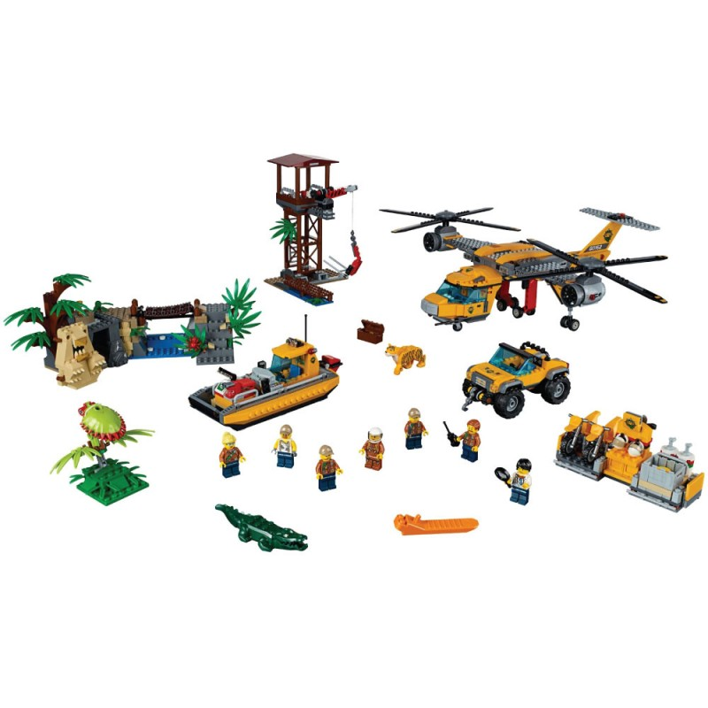 60162 Jungle Air Drop Helicopter - Bricks CaNal Store