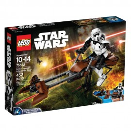 75532 Scout Trooper™ & Speeder Bike™